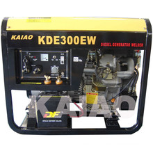 AC Single Phase DC 300A Double Use Diesel Welder Generator